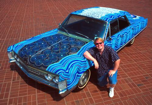 22アートな自動車