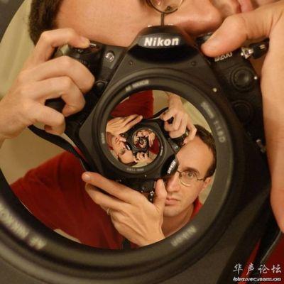 合わせ鏡のような不思議な写真02