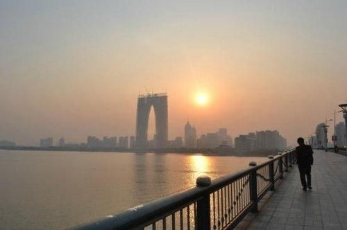 大気汚染で中国の監視カメラが無駄に04