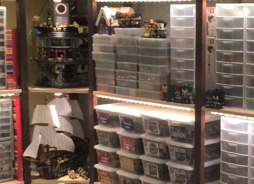 荷造り前にレゴセットを撮影02