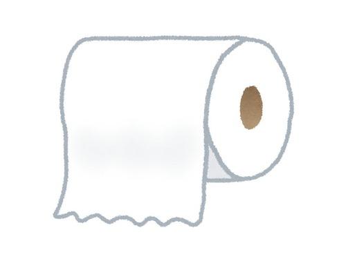 トイレットペーパーの使用量