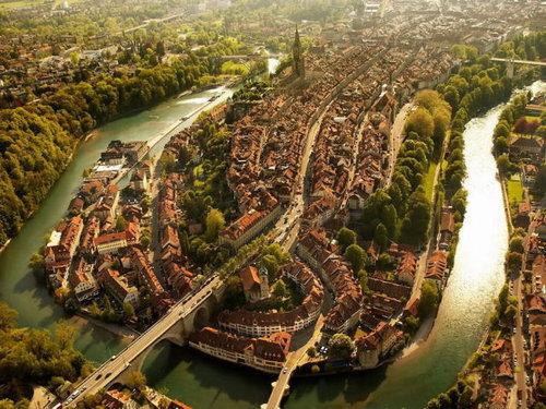 上空から見た都市09