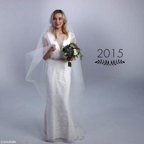 ウェディングドレスの変化11
