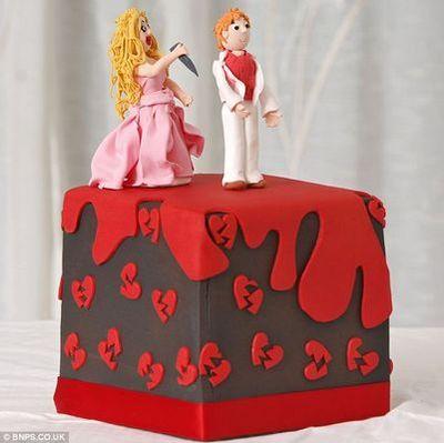 離婚ケーキ01