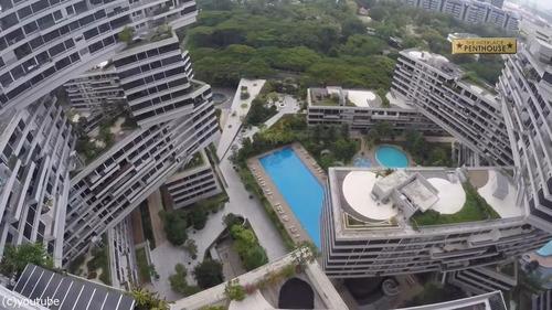 シンガポールのビル02