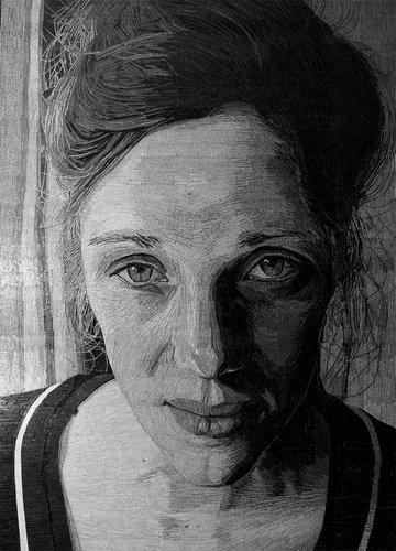 ラブレターで肖像画05