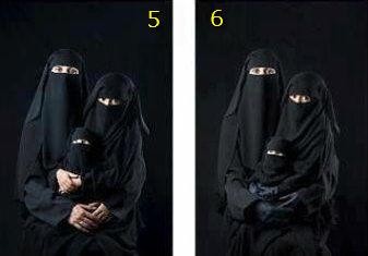 イスラム社会の超過激派の女性の地位の進化03