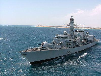 フリーゲート艦カンバーランド