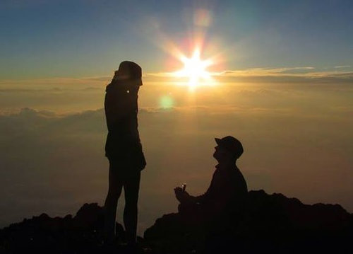 4度目の富士登山で、ようやく朝日が見られた06