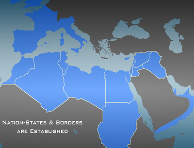 Nation-state & Borders are Established