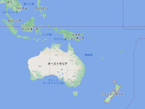 ニュージーランド、マスク必要なし00