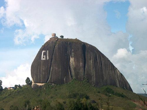 巨岩「ラ・ピエドラ・デル・ペニョール」19