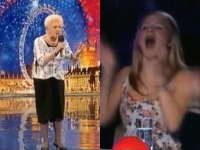 80歳のおばあちゃんがタレントショーに