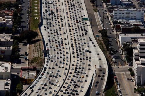 ロサンゼルスの渋滞07