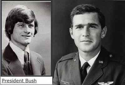 若い頃のクリントン夫妻とオバマ氏とブッシュ大統領11