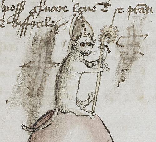 中世の絵画に登場する「猫」08
