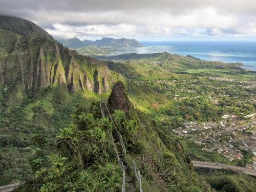 ハワイの天国への階段12