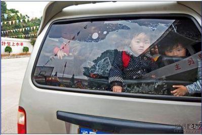 中国の送迎車01