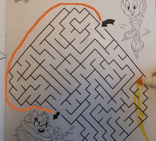 5歳の娘の迷路02