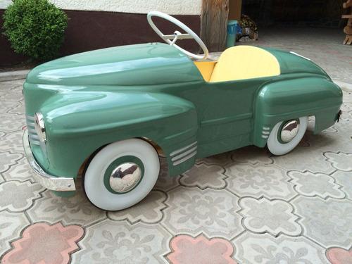 ソ連時代の子ども用のペダル車をレストア01