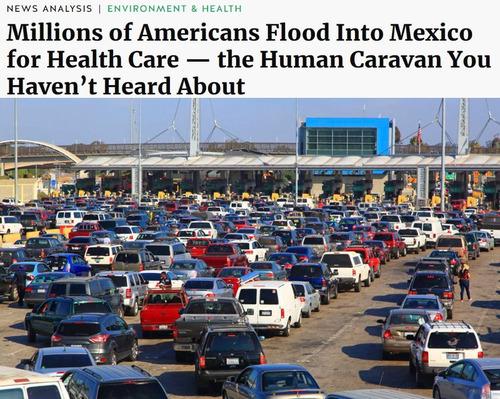 医療を求めてメキシコに群がるアメリカ人01