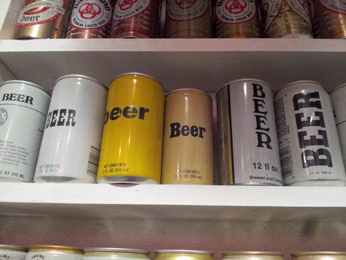 ビール缶のコレクション 004