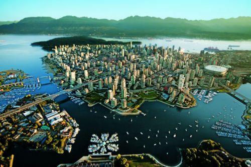 上空から見た都市13