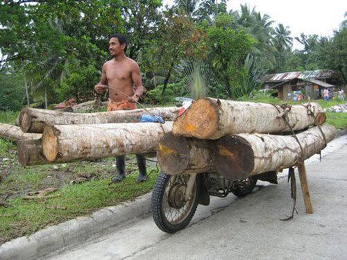 バイクで物を運ぶ限界05