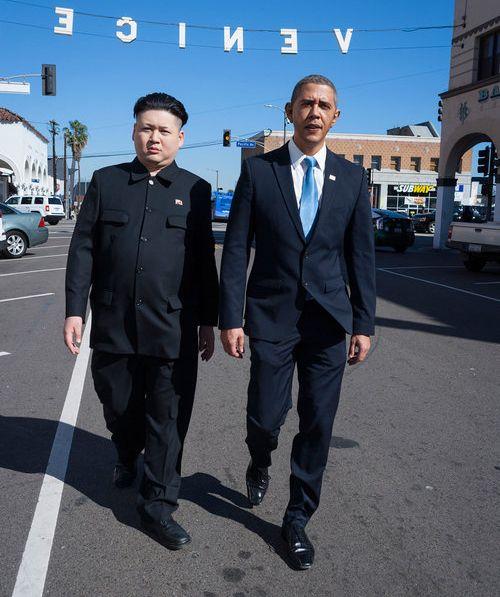 オバマと金正恩のそっくりさん01