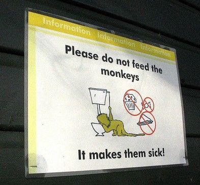 動物園の面白標識06