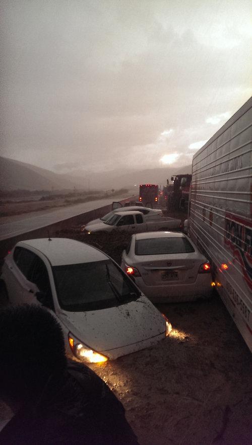 干ばつの続くカリフォルニアにようやく雨が降った14