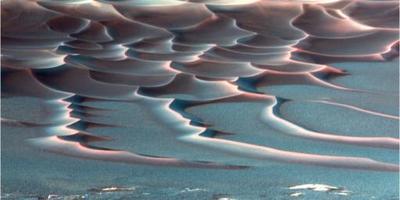 火星から見た日没の写真が話題に02