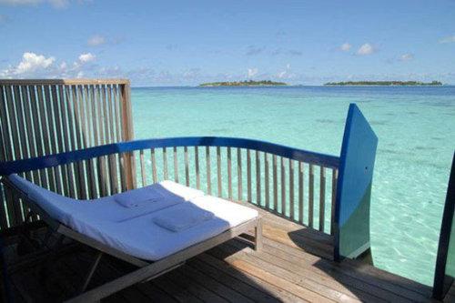 モルディブの小舟のようなホテル10