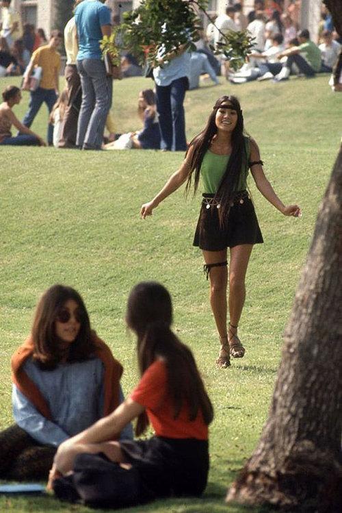 40年前のアメリカの女子高生ファッション12