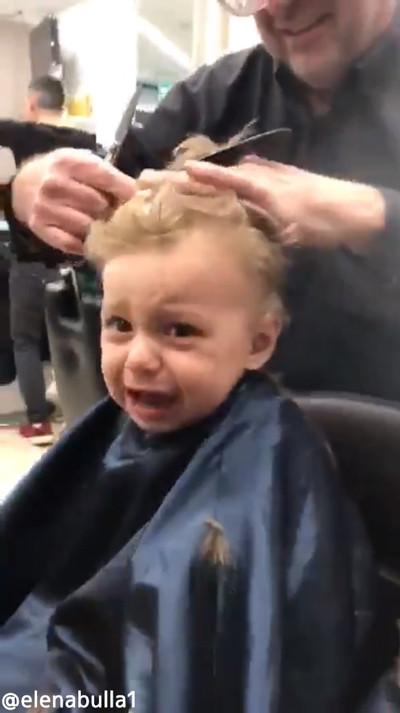 初めての美容室で男の子が泣き出したら01
