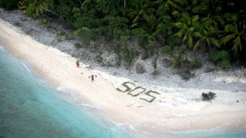無人島からの救助05