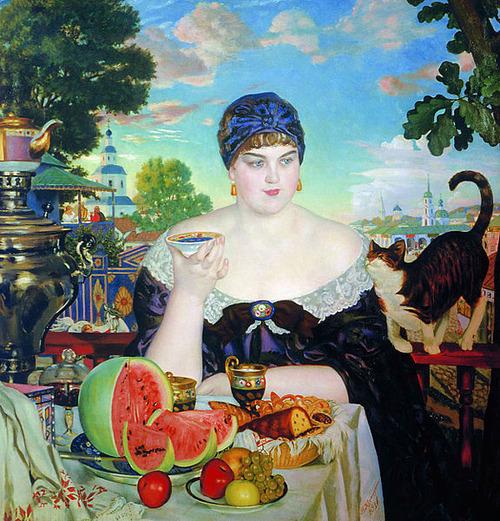 ボリス・クストーディエフ「商人の妻」