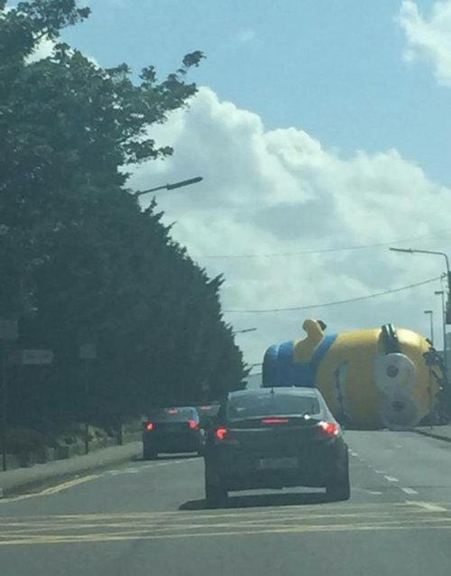 ダブリンで道路が渋滞した理由01
