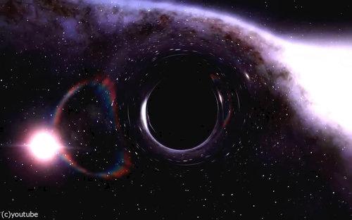 ブラックホールに吸い込まれたら01