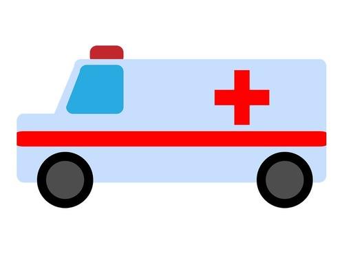 救急病院に運ばれたホームレスの男性を見守る4匹の犬00