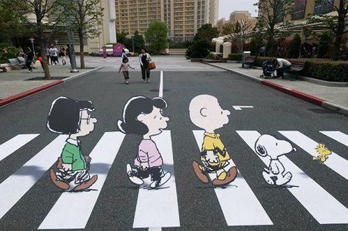 ドライバーに徐行させる横断歩道01