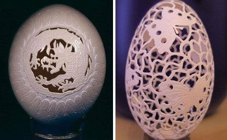 卵の殻アート04