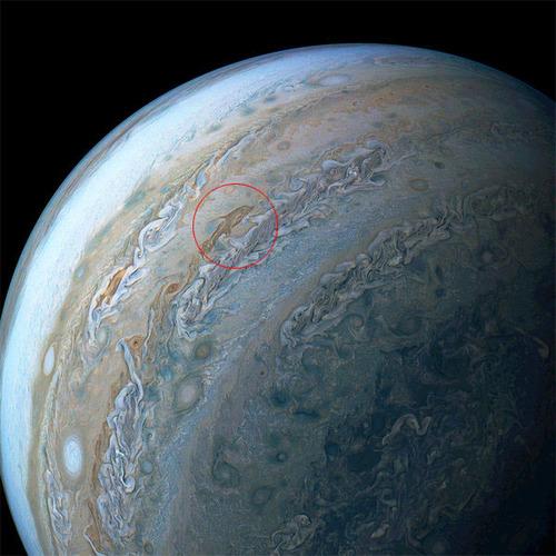 木星に巨大な「イルカ」の姿02