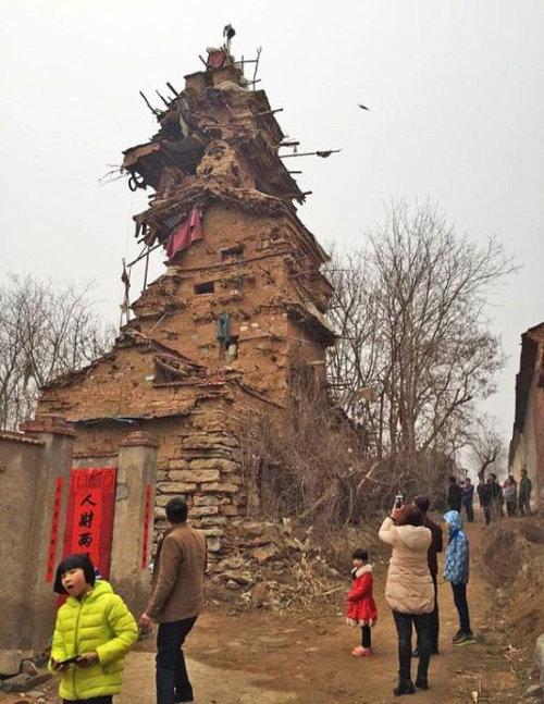 中国の7階建ての建物01