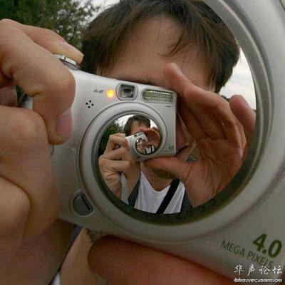 合わせ鏡のような不思議な写真10