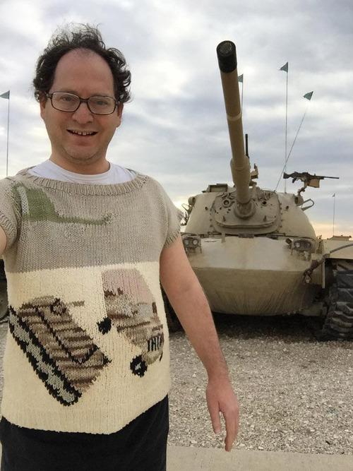 旅行先の景色を編んだセーター08