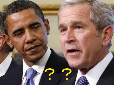 ブッシュとオバマ