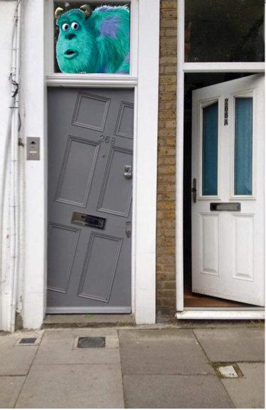 ロンドンで見かけたドア03