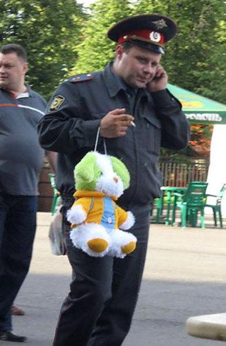 ロシアの警官08