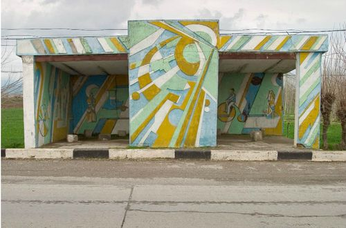 ソ連のバス停18